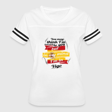 URLAUB Spanien espanol TRAVEL I M IN Spain Vigo - Women's Vintage Sport T-Shirt