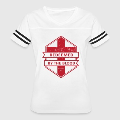Redeemed By The Blood - Women's Vintage Sport T-Shirt