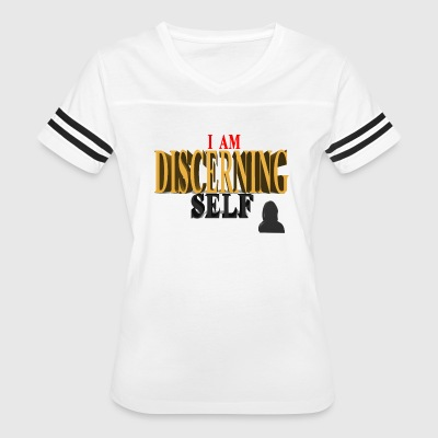 The Discernment Of Self DISCERNING SELF - Female - Women's Vintage Sport T-Shirt