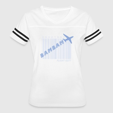 got7_bambam_flight log - Women's Vintage Sport T-Shirt