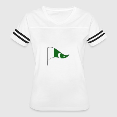 Pakistan Islamabad Asia Flag Banner Flags Ensigns - Women's Vintage Sport T-Shirt
