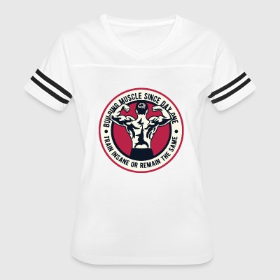 Building Muscle - Women's Vintage Sport T-Shirt