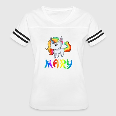 Mary Unicorn - Women's Vintage Sport T-Shirt