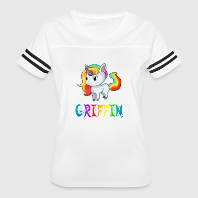 Griffin Unicorn - Women's Vintage Sport T-Shirt