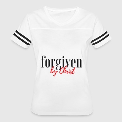 forgiven by christ - Women's Vintage Sport T-Shirt