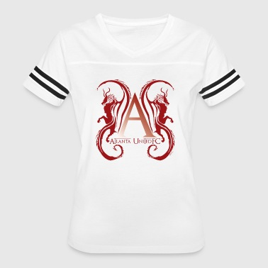 AUFC Logo red - Women's Vintage Sport T-Shirt