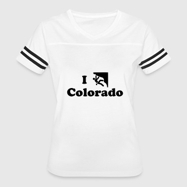 colorado rock climbing - Women's Vintage Sport T-Shirt
