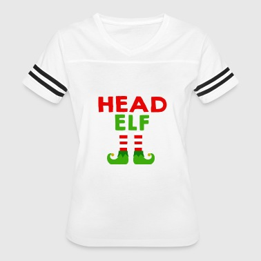 Head Elf shirt - Funny Dad Papa Elf Christmas tshi - Women's Vintage Sport T-Shirt