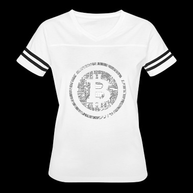 Promote Financial Freedom Bitcoin Cryptocurrency T - Women's Vintage Sport T-Shirt