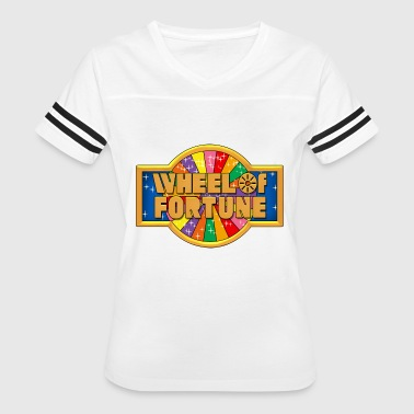 Wheel Of Fortune - Women's Vintage Sport T-Shirt