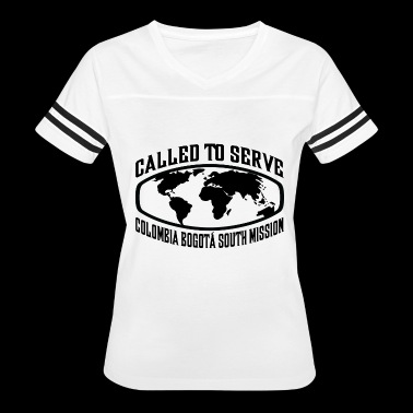 Colombia Bogota South Mission - LDS Mission CTSW - Women's Vintage Sport T-Shirt
