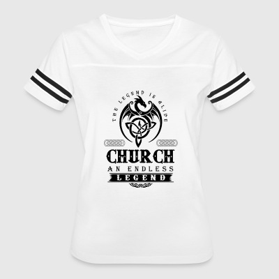 CHURCH - Women's Vintage Sport T-Shirt
