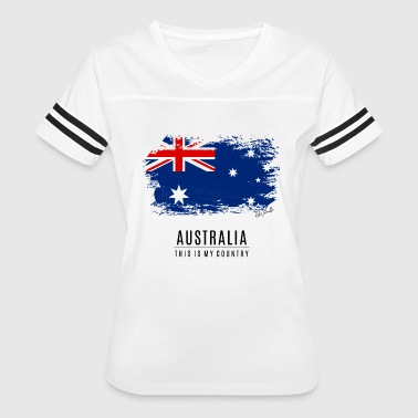 AUSTRALIA - THIS IS MY COUNTRY - Women's Vintage Sport T-Shirt