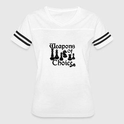 Weapons of Choice Chess - Women's Vintage Sport T-Shirt