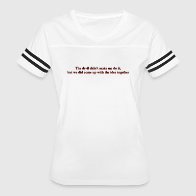 Evil Collaboration - Women's Vintage Sport T-Shirt