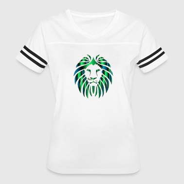 Prismatic Lion 11 No Background 800px - Women's Vintage Sport T-Shirt