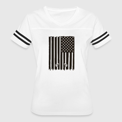 The American Dream in Prison - Women's Vintage Sport T-Shirt