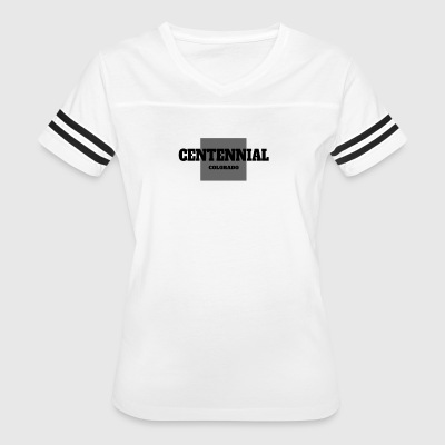 COLORADO CENTENNIAL US STATE EDITION - Women's Vintage Sport T-Shirt