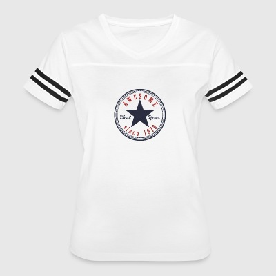 39th Birthday Awesome since T Shirt Made in 1978 - Women's Vintage Sport T-Shirt