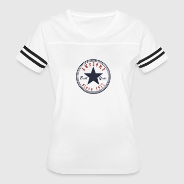 40th Birthday Awesome since T Shirt Made in 1977 - Women's Vintage Sport T-Shirt