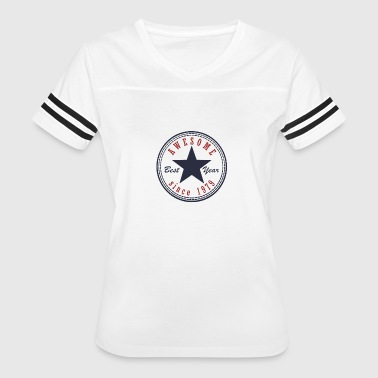 38th Birthday Awesome since T Shirt Made in 1979 - Women's Vintage Sport T-Shirt