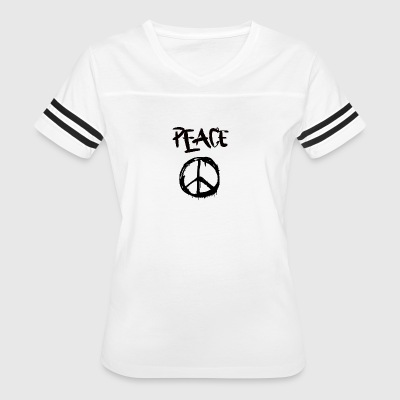 Peace - Women's Vintage Sport T-Shirt