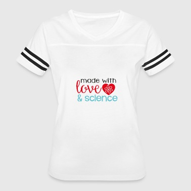 made with love & science - Women's Vintage Sport T-Shirt