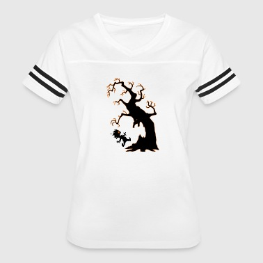 Halloween for scary tree - Women's Vintage Sport T-Shirt