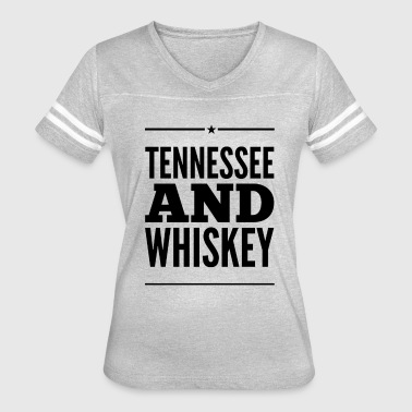Smooth As Tennessee Whiskey Tennessee and Whiskey - Women's Vintage Sport T-Shirt