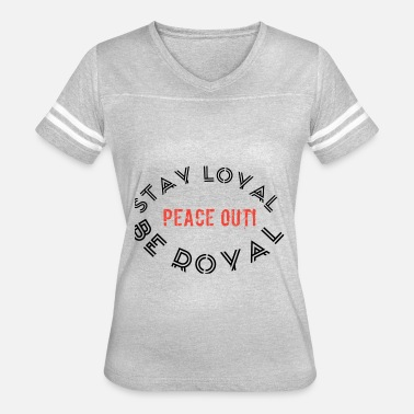 Outro Peace out haters - Women's Vintage Sport T-Shirt