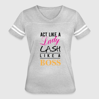 lash like a boss BK - Women's Vintage Sport T-Shirt