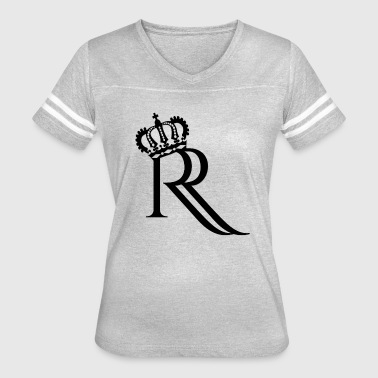 Redefining Royalty Black - Women's Vintage Sport T-Shirt