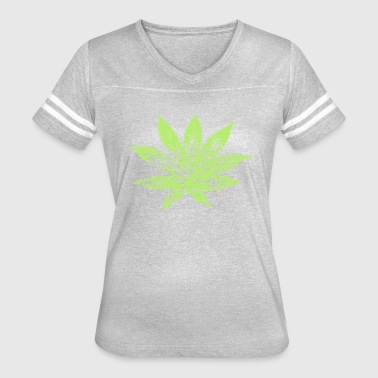 hemp leaf - Women's Vintage Sport T-Shirt