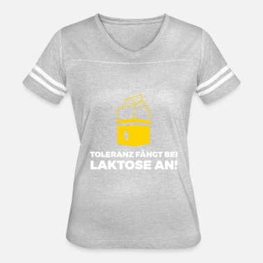 Hypochondriacs Tolerance Begins With Lactose! - Women's Vintage Sport T-Shirt