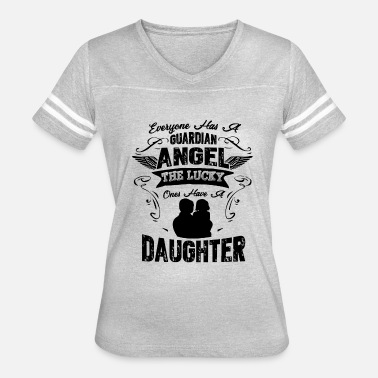 Daughter Angel Daughter Guardian Angel Shirt - Women's Vintage Sport T-Shirt
