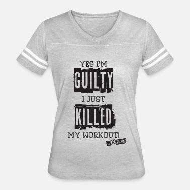 Fitx Yes I'm Guilty - DK - FITx - Women's Vintage Sport T-Shirt