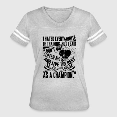 Boxing Is Life Boxing Life Shirt - Women's Vintage Sport T-Shirt
