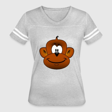 monkey - Women's Vintage Sport T-Shirt