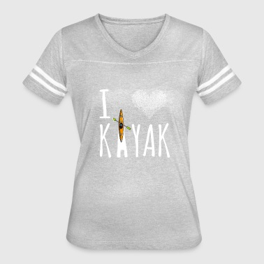 I Love Kayak I love my Kayak - Women's Vintage Sport T-Shirt