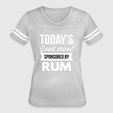 Sponsored by Rum - Women's Vintage Sport T-Shirt