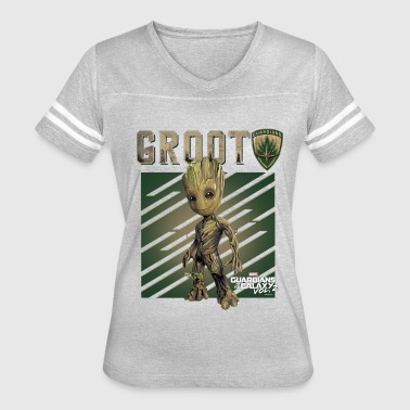 Guardians Of The Galaxy Marvel GROOT Guardians of Galaxy Vol 2 1 - Women's Vintage Sport T-Shirt