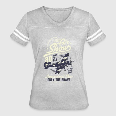 Airplane Pilot - Women's Vintage Sport T-Shirt