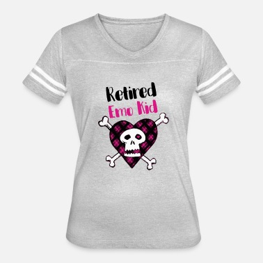 Emo Kid Retired Emo Kid Shirt - Women's Vintage Sport T-Shirt