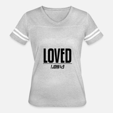 Black Love Black Loved - Women's Vintage Sport T-Shirt