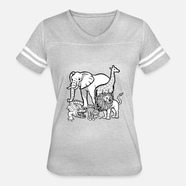 Zoo Animal zoo animals - Women's Vintage Sport T-Shirt