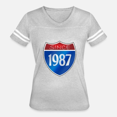 Legend Since 1987 Since 1987 - Women's Vintage Sport T-Shirt
