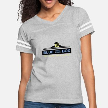 Travel Agency Clerk Blue Box Travel Agency - Women's Vintage Sport T-Shirt