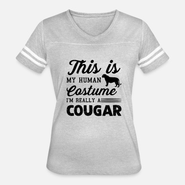 Cougar I'm Really A Cougar Shirt - Women's Vintage Sport T-Shirt