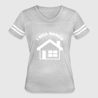 Sell Homes I SELL HOMES - Women's Vintage Sport T-Shirt