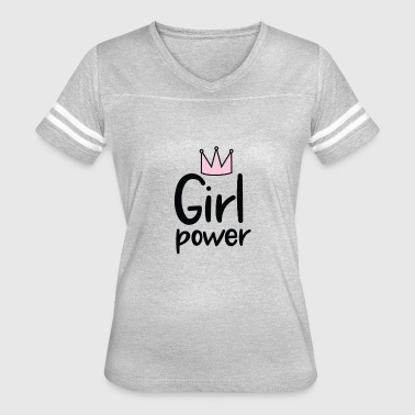 Woman-of-the-year Girl Power | Women's Rights | Year Of the Woman - Women's Vintage Sport T-Shirt